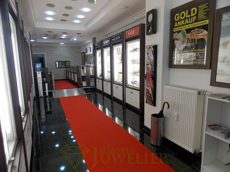 Juwelier Istanbul in Mönchengladbach Geschäft innen 1